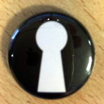 Secret Affair Keyhole Badge
